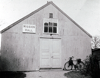 The Mission Hall about 1950 [Z50/134/47]